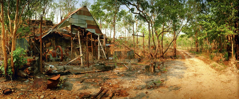 Historic Walker Creek tin mine, Litchfield National Park, NT, Australia.
