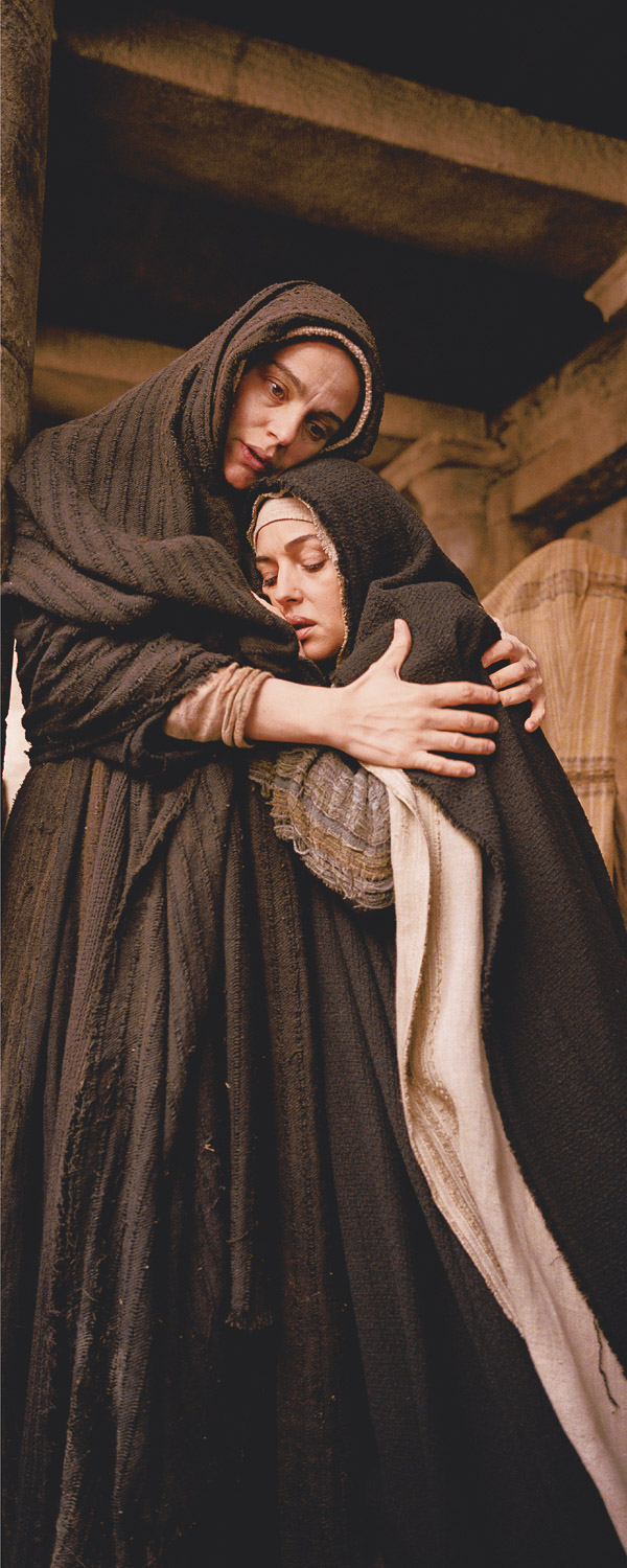 Photo capture on the set of Mel Gibson's movie, The Passion of Christ.