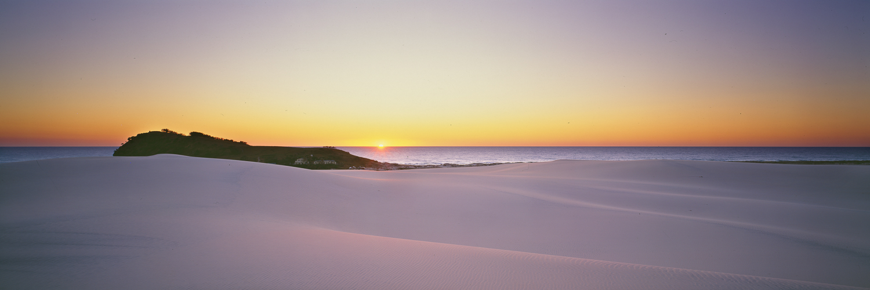 Sand dunes at Indian Head, Fraser Island, Qld, Australia.