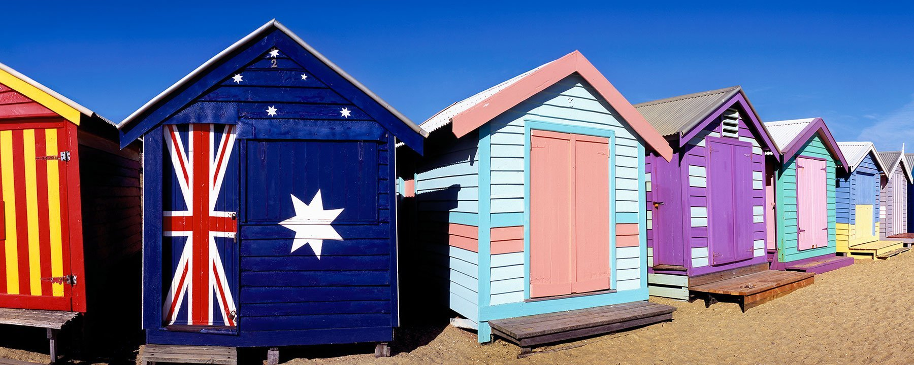 Brighton Beach Huts, Melbourne, Australia