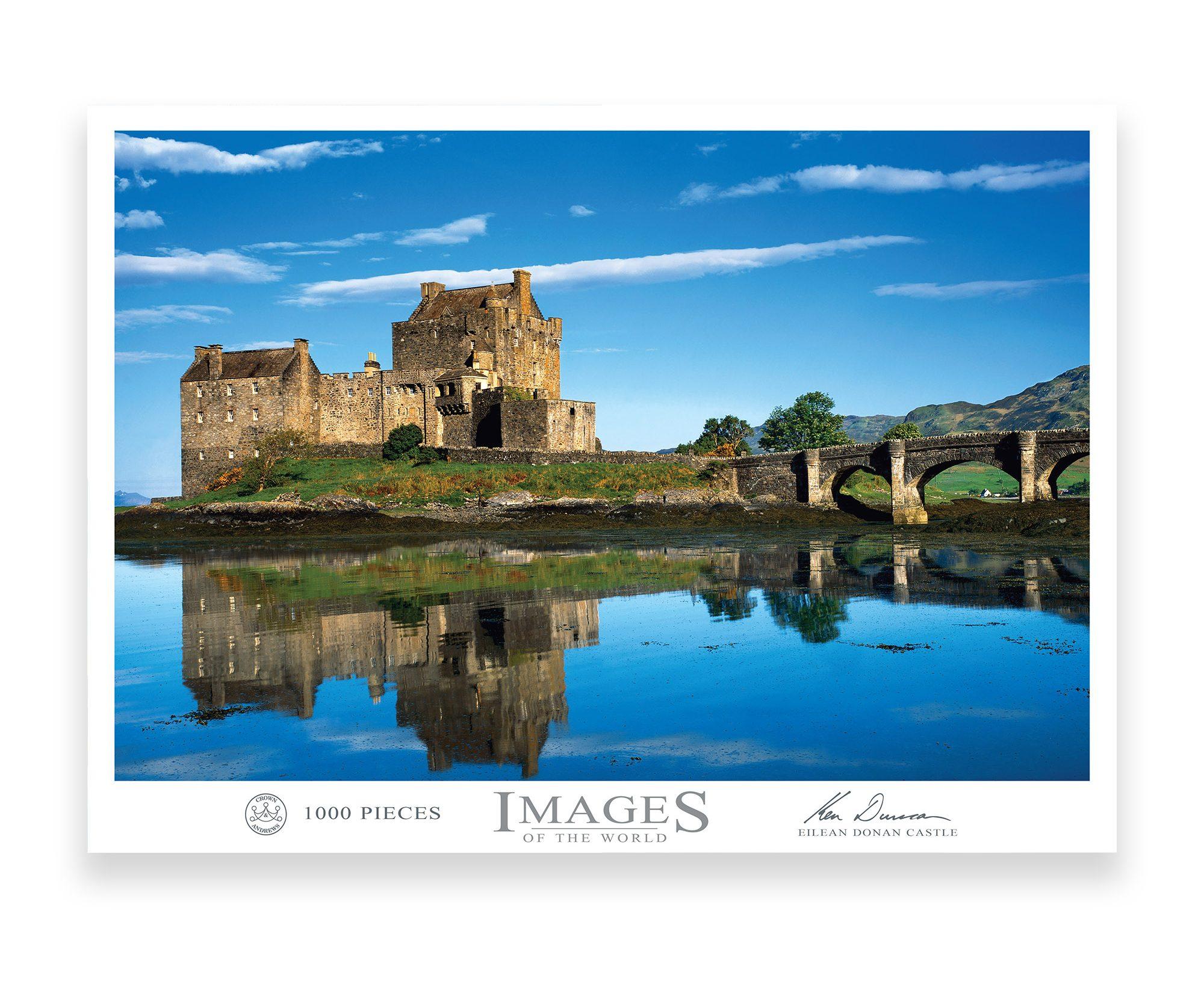 Eilean Donan Castle 1000 Piece Puzzle
