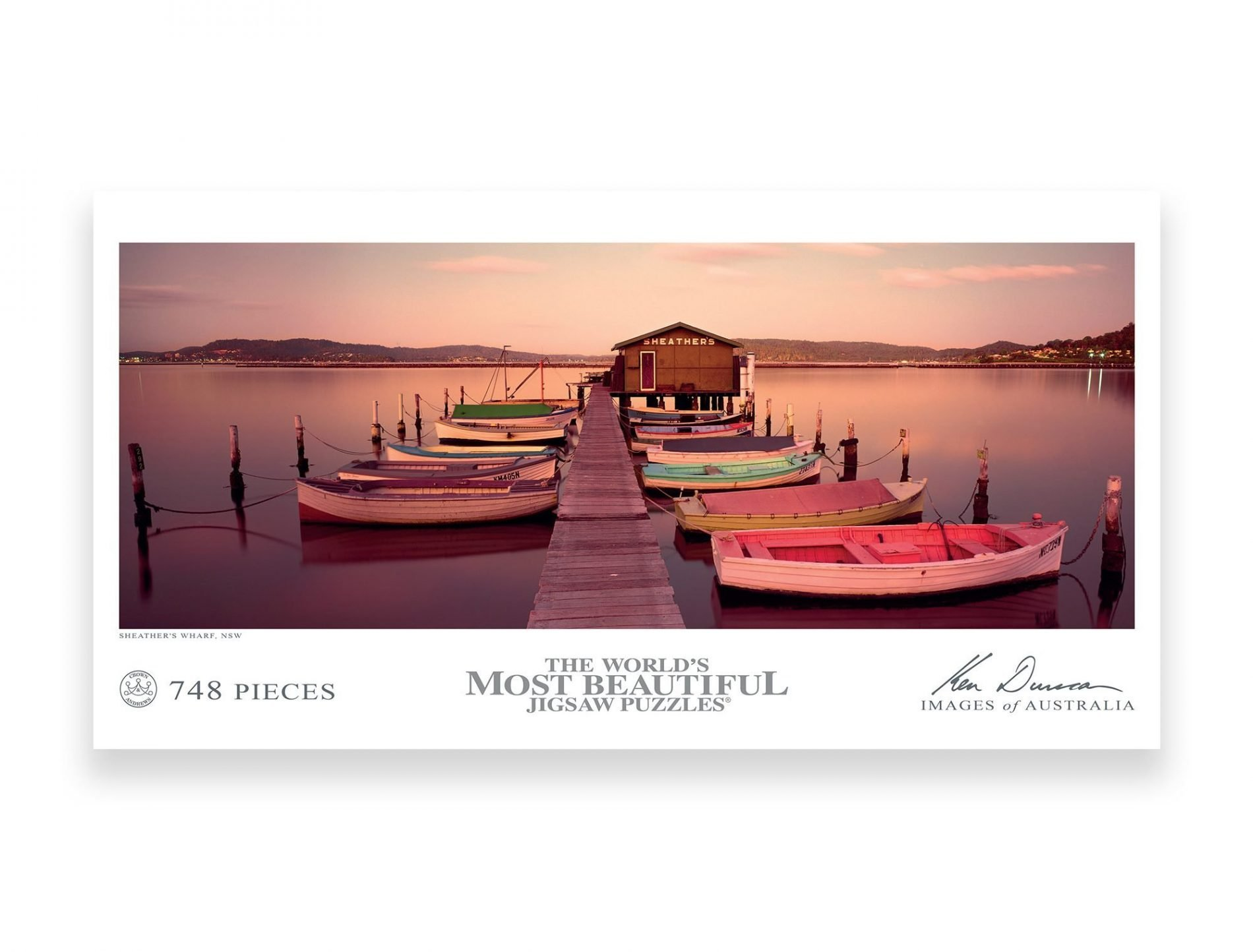 Sheathers Wharf 748 Piece Puzzle