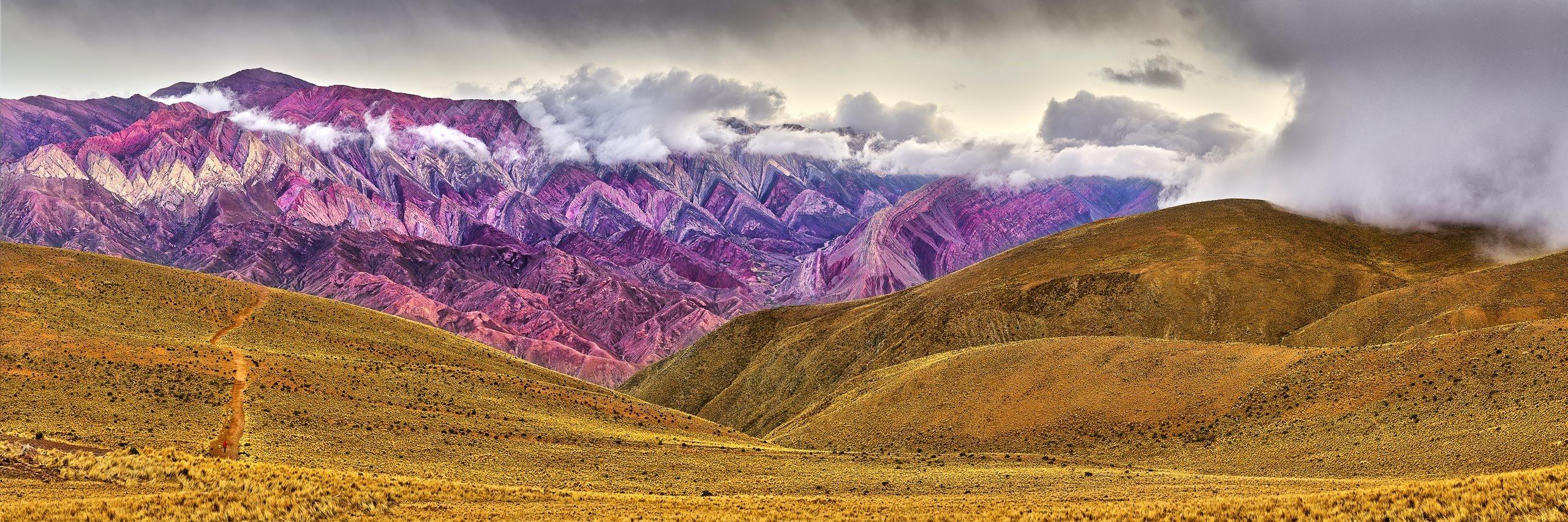 Hornacal, 14 Colour Mountain, Argentina.