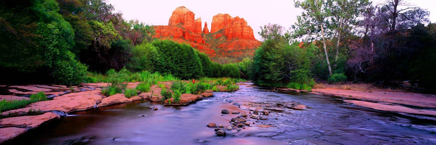 Oak Creek in Sedona, Arizona, USA.