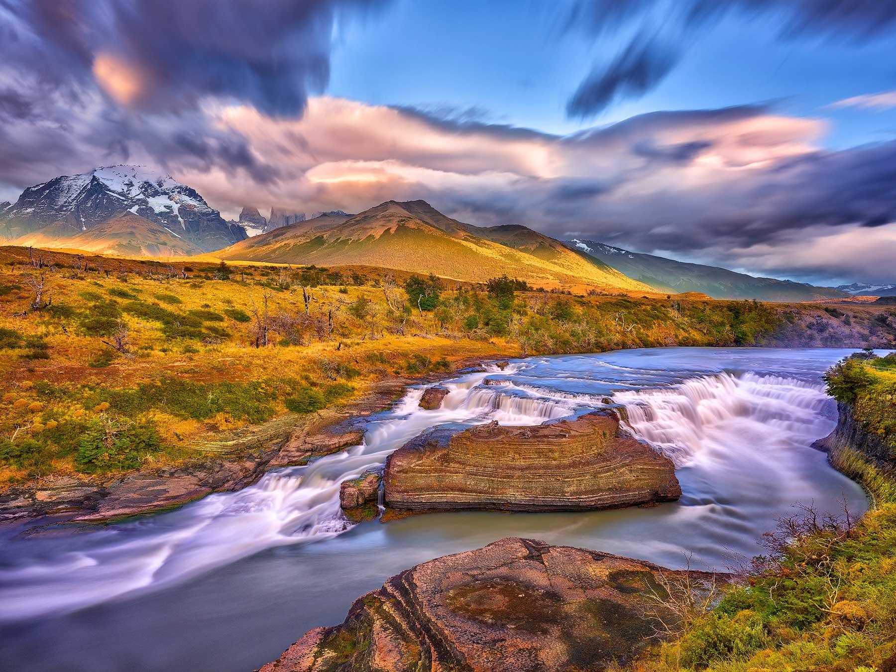 Cascada de Paine