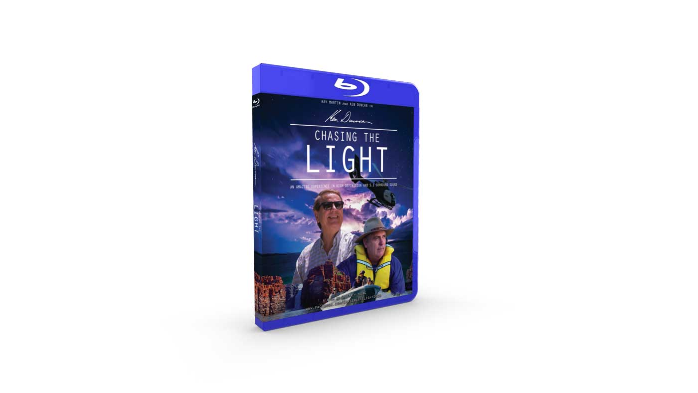 Chasing the Light Documentary Blu-ray