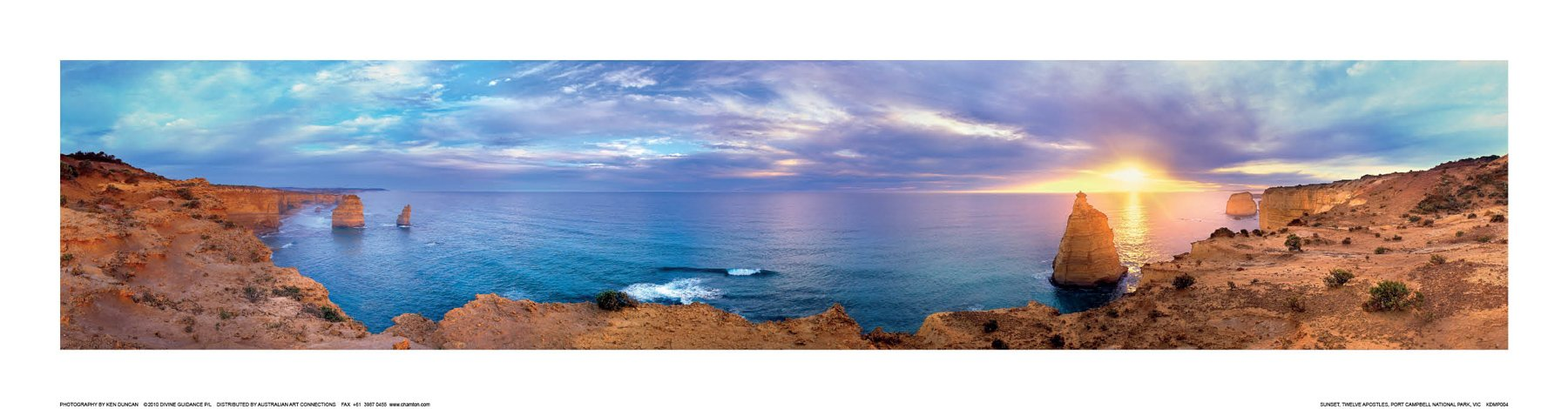 Sunset, Twelve Apostles, Port Campbell N.p. VIC