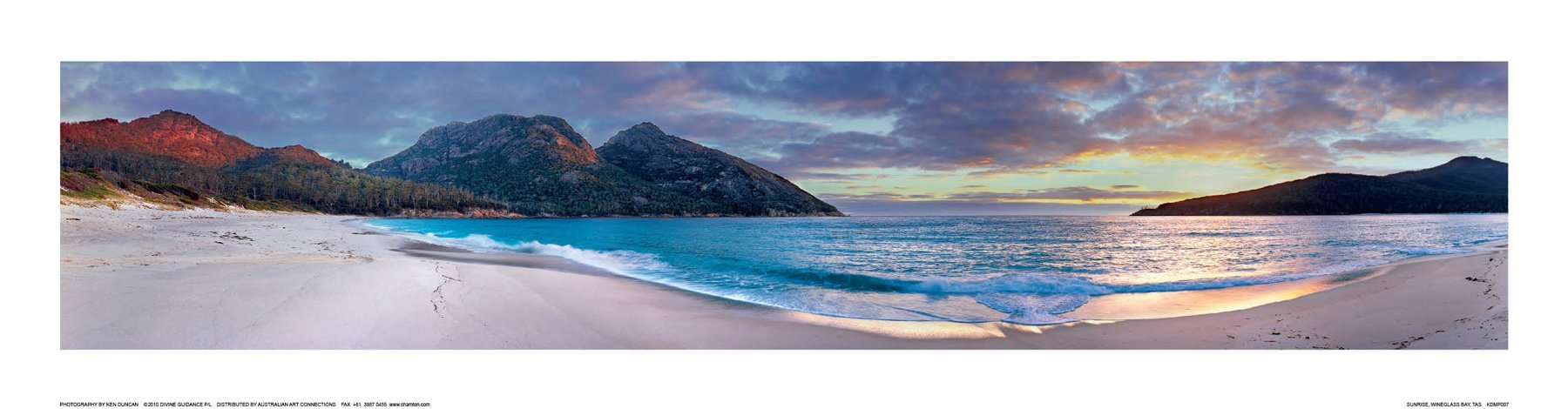 Sunrise, Wineglass Bay, TAS