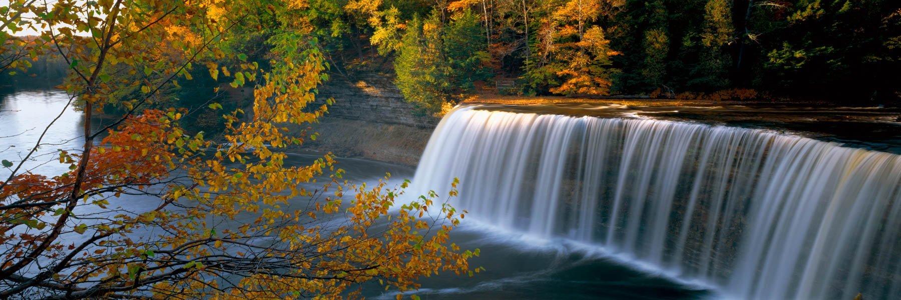 Upper Tahquamenon Falls, MI.