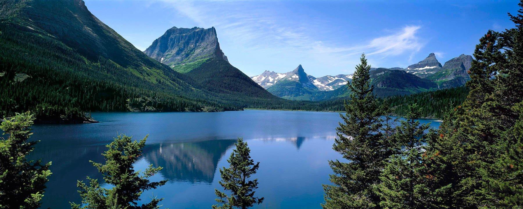 St. Mary Lake, Montana, USA