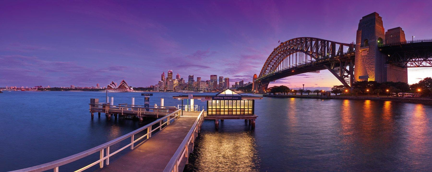 Twilight Calm, Sydney Harbour