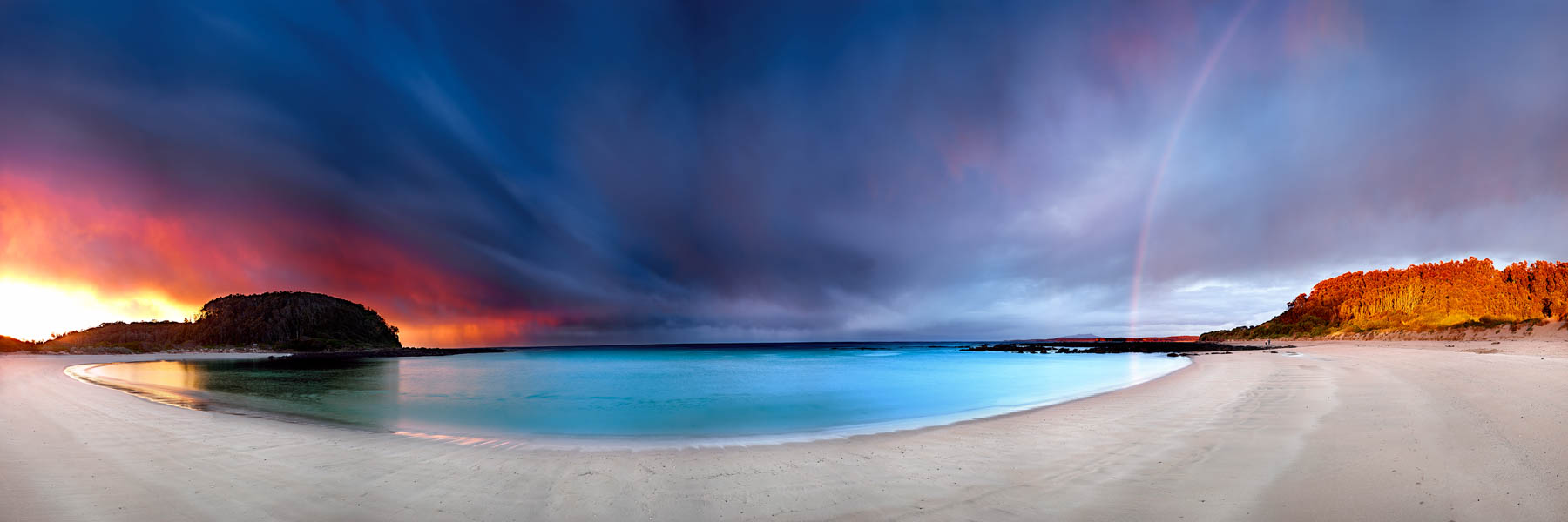 The calm before the storm, Shark Bay, NSW, Australia.