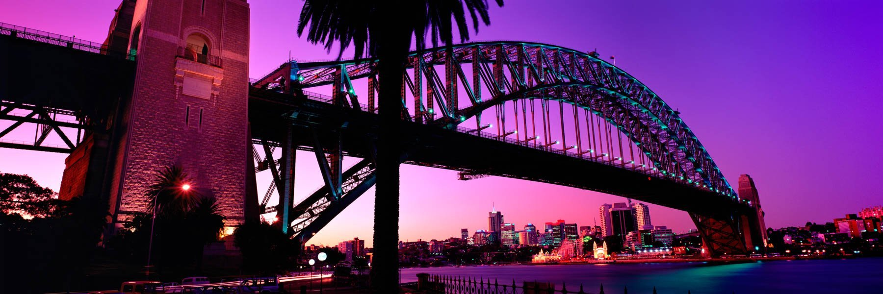 Sunset, Sydney Harbour Bridge