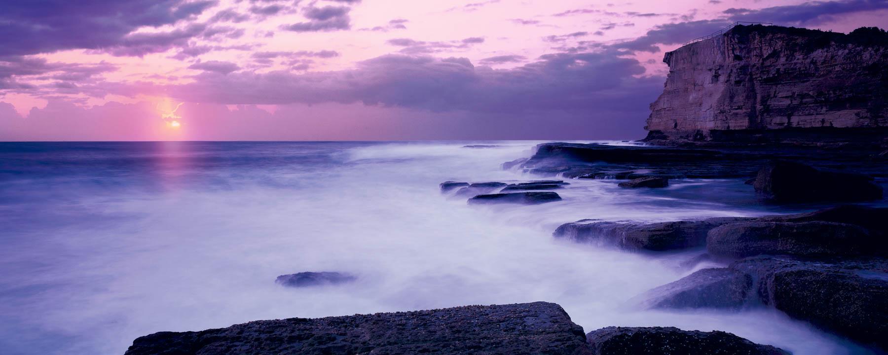 Skillion Sunrise, Terrigal, Australia