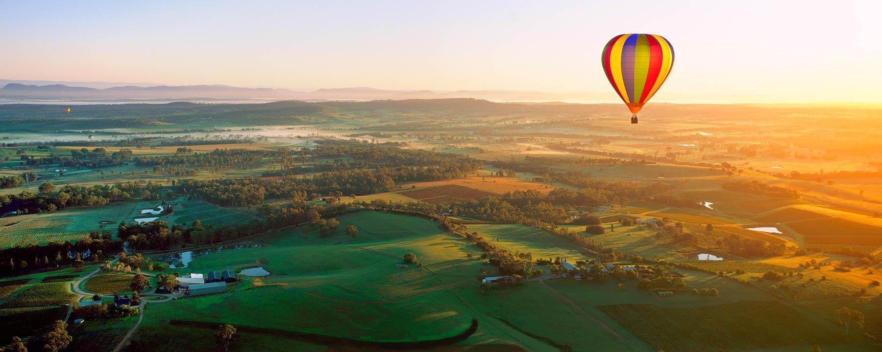 Drifting Above, Hunter Valley, Australia