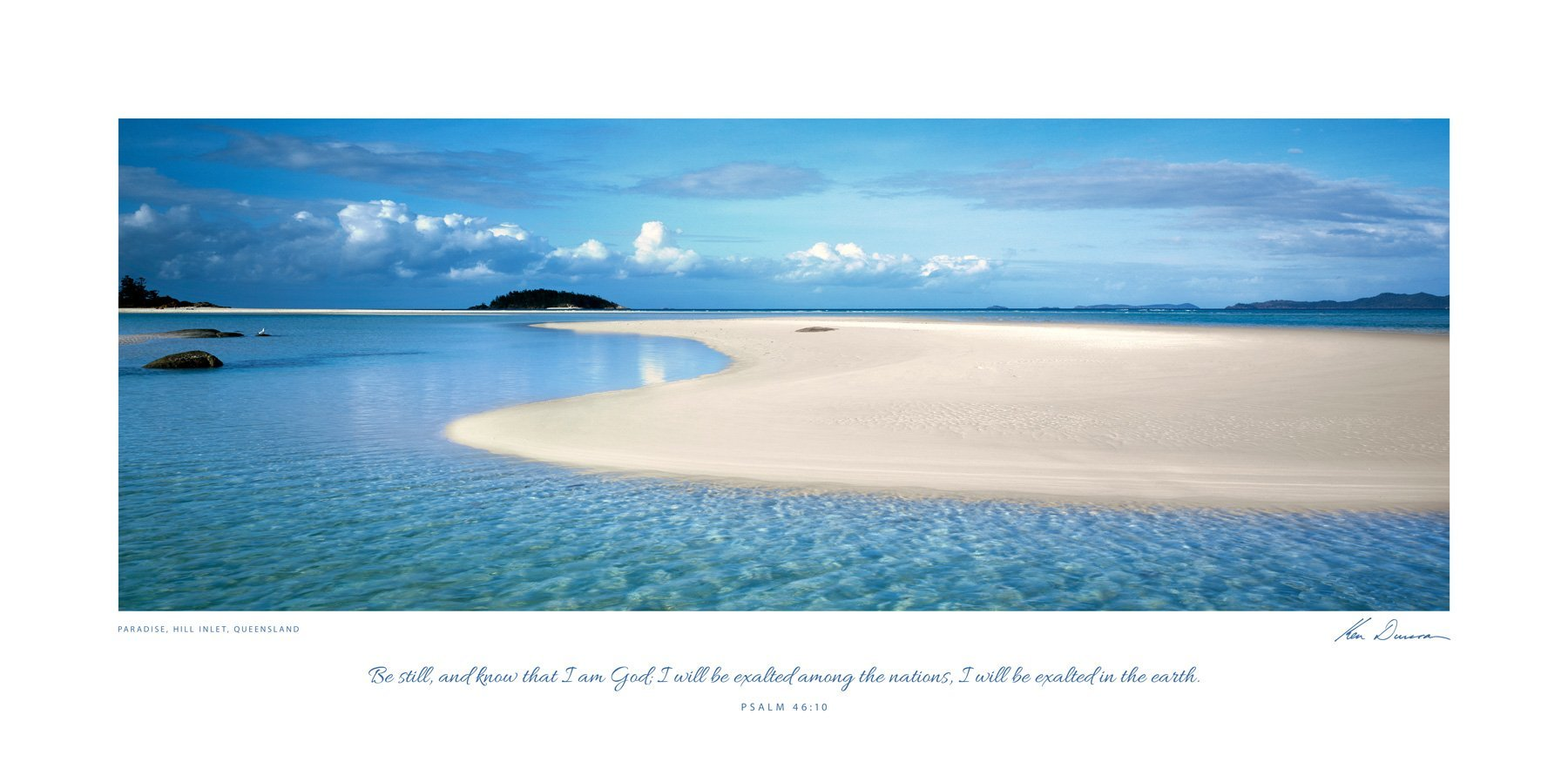 Paradise, Hill Inlet, Queensland (Bible Verse)