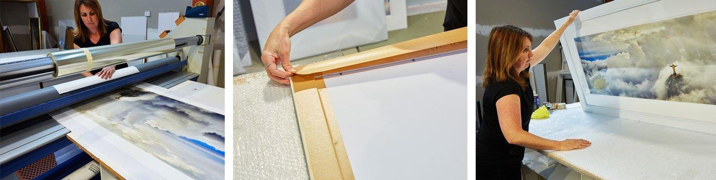 Printing and Framing at Ken Duncan