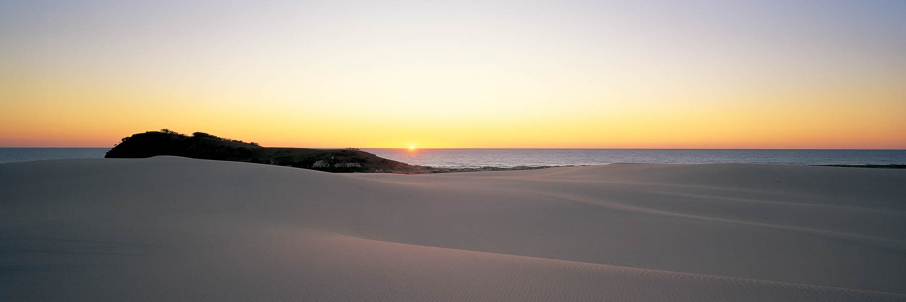 Sand dunes at Indian Head, Fraser Island, Qld, Australia.