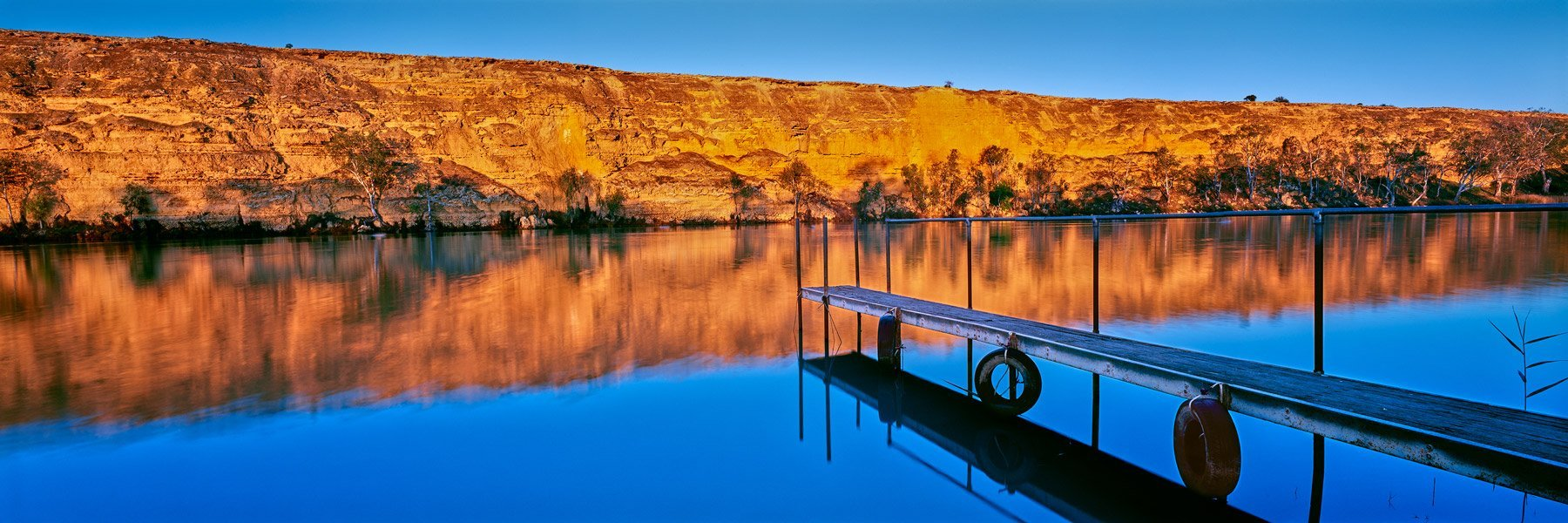 Flood's Jetty, Swan Reach, SA, Australia.