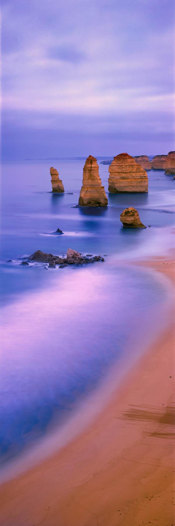 Twilight at The Twelve Apostles, Victoria Australia.