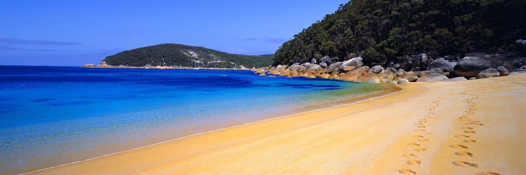Refuge Cove, Wilsons Promontory, Victoria, Australia.