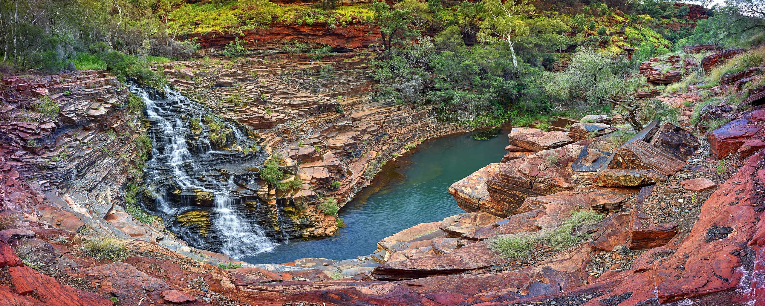 Fortescue Falls, Karijini National Park, WA, Australia.