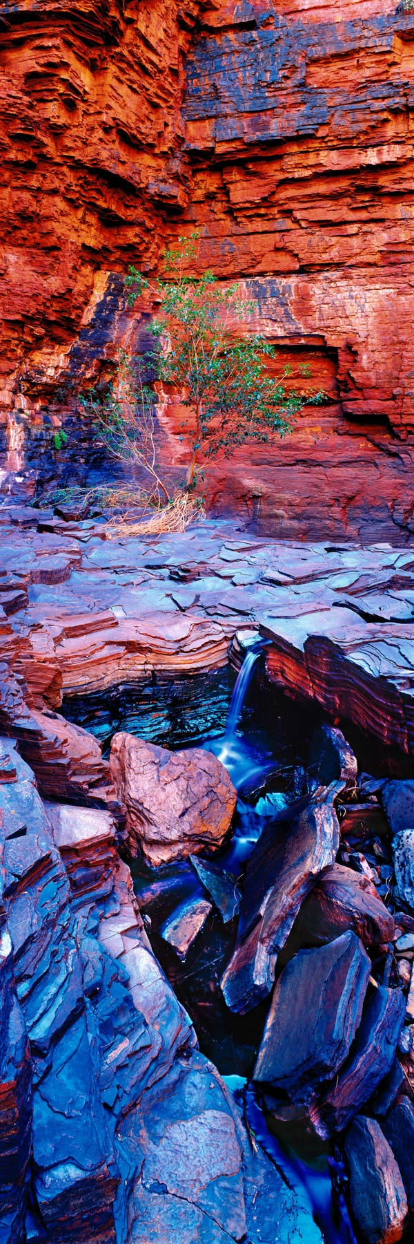 End Pool in Weano Gorge, Karijini National Park, WA, Australia.