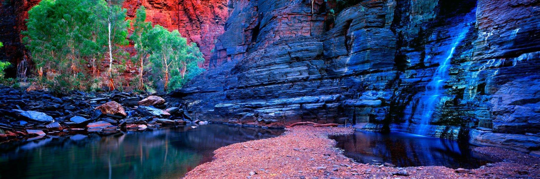 Junction Pool, Karijini National Park, WA, Australia.