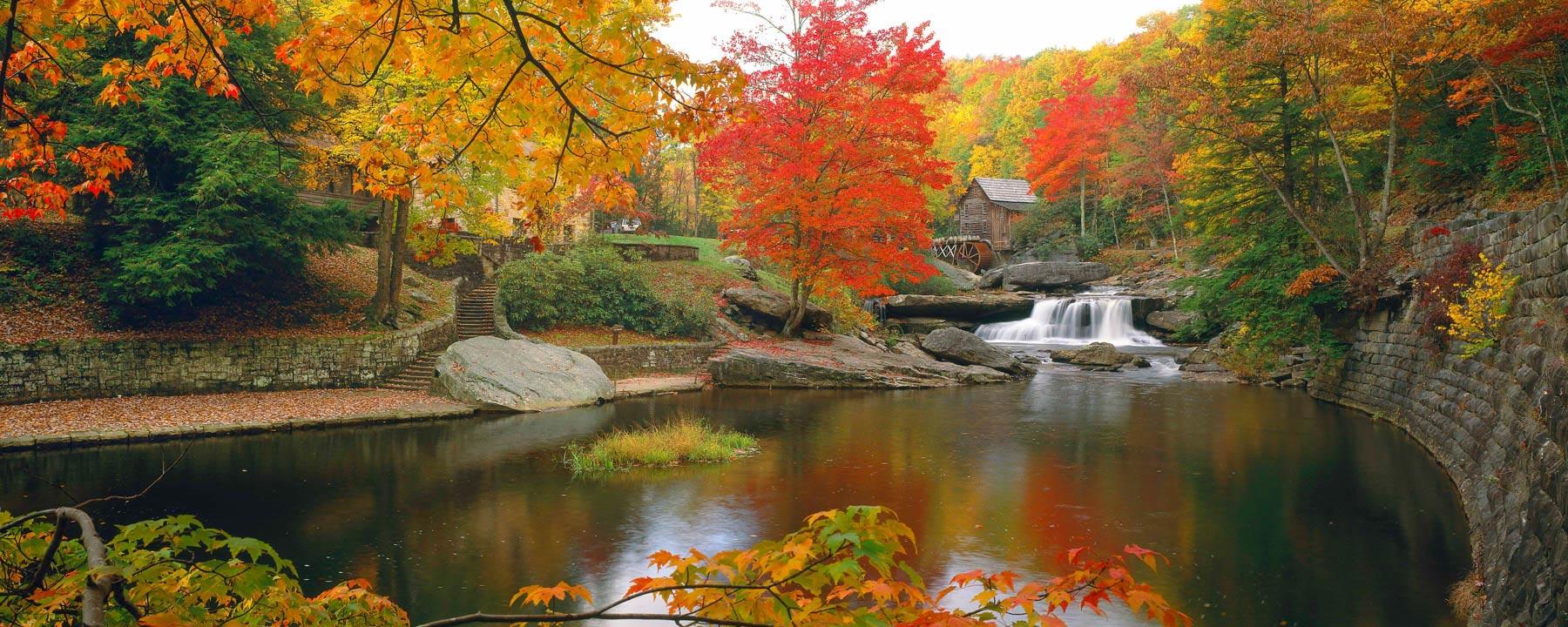 Glade Creek Grist Mill, West Virgina, USA