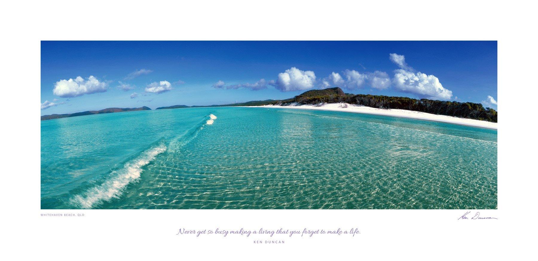 Whitehaven Beach, QLD (Inspirational)