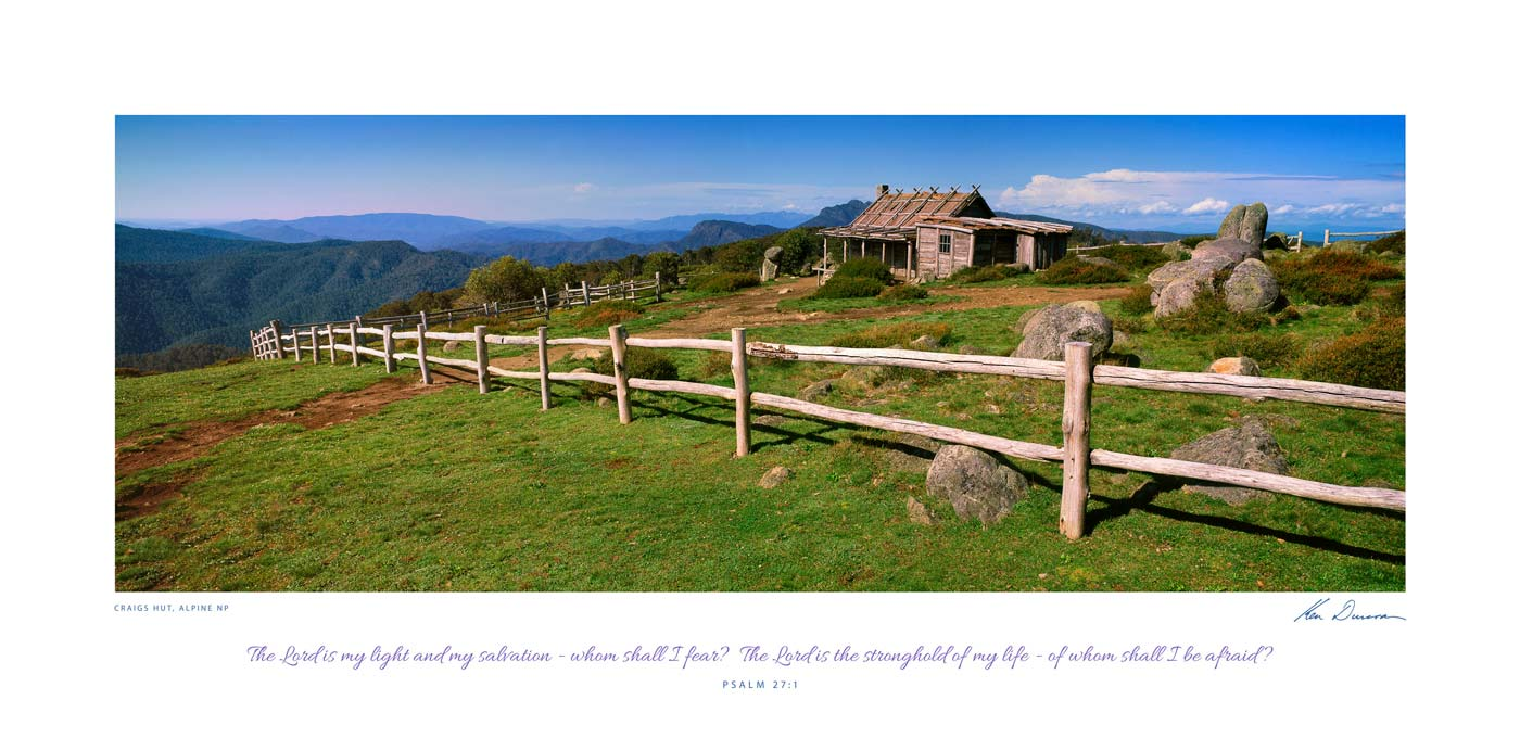 Craigs Hut, Alpine NP