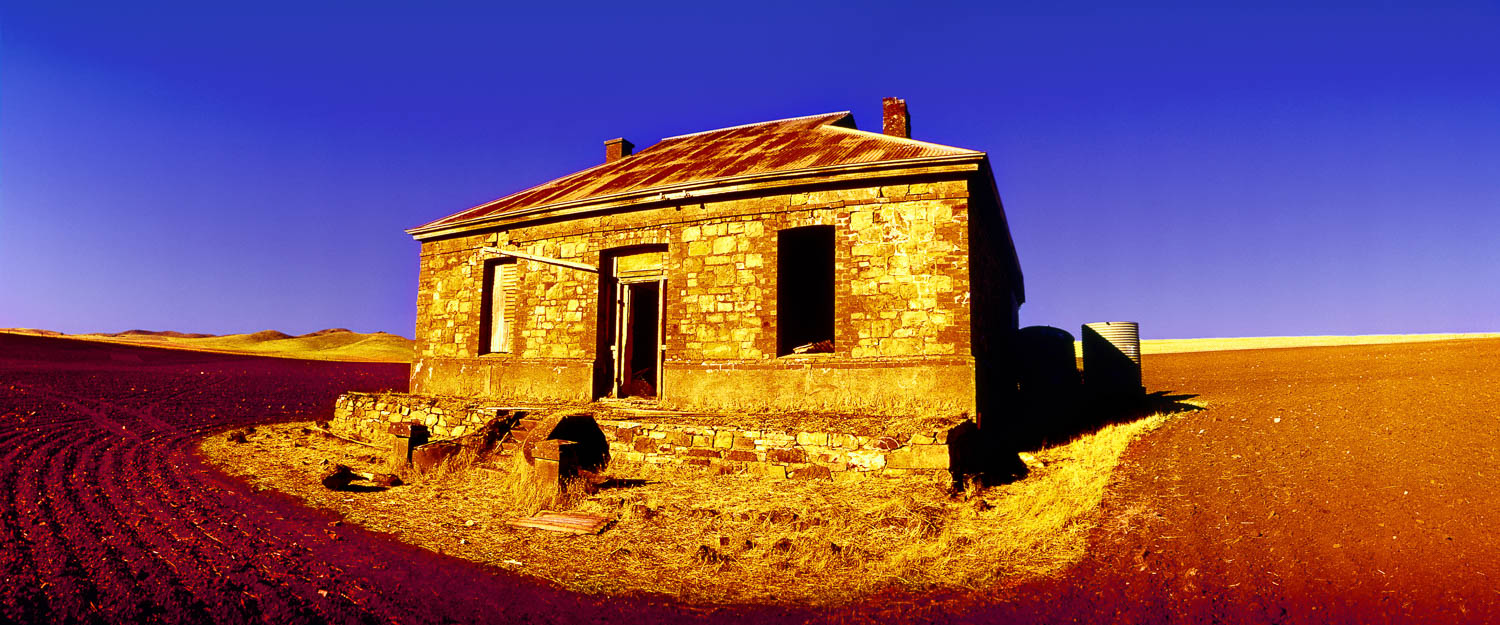 The image used on the cover of Might Oil's Diesel and Dust album cover, Burra, SA, Australia.