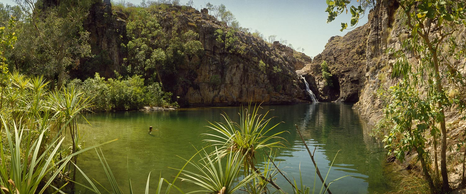 Barramundi Falls, Northern Territory, is the perfect place for a cooling swim on a hot summers day.