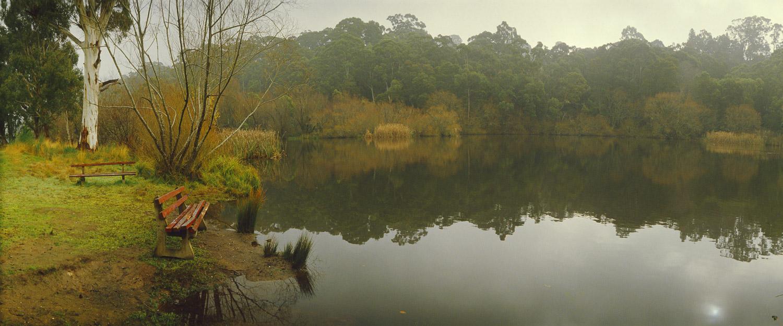 Tranquillity at Jubilee Lake, Daylesford, Victoria, Australia.